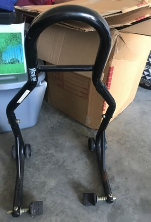 Venom motorcycle rear stand without spools for Sale in Saint Robert, MO