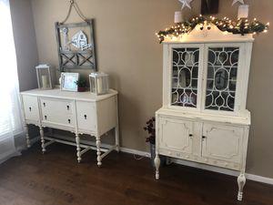 Antique Dining Room Cabinet Set for Sale in Spring, TX