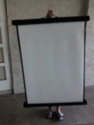 Projector screen for Sale in West Palm Beach, FL