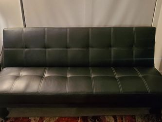 Very Good Condition Leatherette Futon for Sale in Washington,  DC
