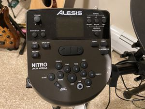 Alesia Nitro Electronic Drum Set with original box for Sale in Redding, CT