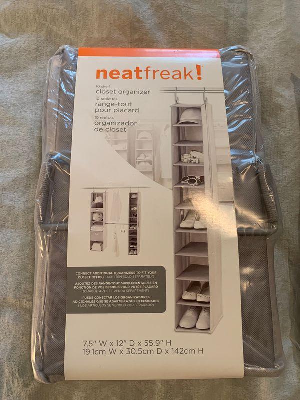 Closet Organizers, Neatfreak! From Container Store