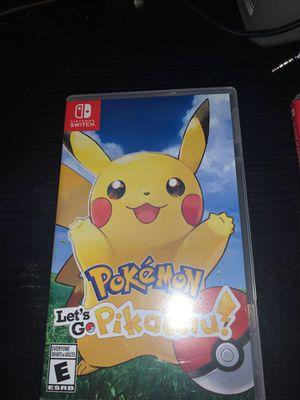 Pokémon Let's Go Pikachu for Sale in Fontana, CA