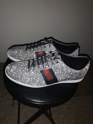Gucci sparkle shoes 10.5 for Sale in Pittsburgh, PA