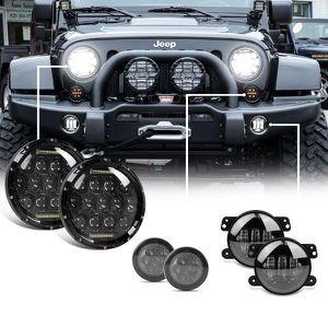 2007-2017 Jeep Wrangler JK LED Headlight, Fog Light, & Turn Signal Combo for Sale in Fullerton, CA