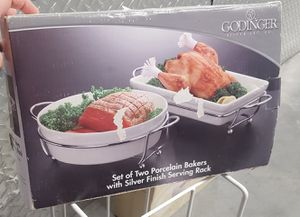 godinger porcelain bakers and rack for Sale in San Diego, CA