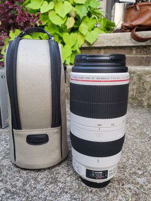 Canon 100-400mm 100-400 f/4.5-5.6L f4.5-5.6 L IS II USM – Execllent, like new condition. USA Model for Sale in Lexington, KY