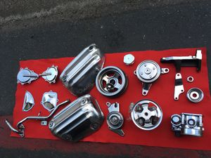 infiniti g35/nissan 350z polished to chrome finish engine parts for Sale in Escondido, CA