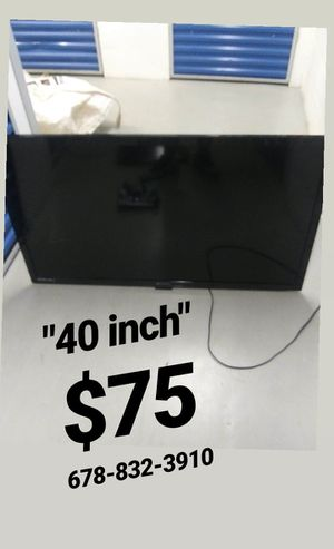 40 inch TV $75 for Sale in Tucker, GA