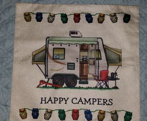 Apache camper trailer pillow cover for Sale in Palm Harbor, FL