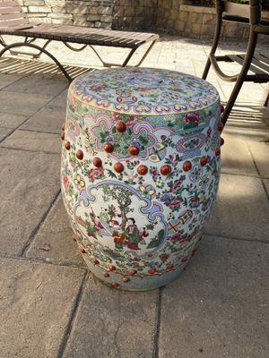 Vintage Chinese Garden Seat for Sale in Carlsbad, CA