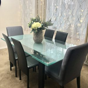 Dania Dining Table With Chairs for Sale in Everett, WA