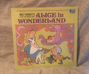 Walt Disney Alice In Wonderland Vinyl LP Album for Sale in Barrington, IL