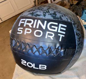 20lb fringe sport medicine ball - workout / gym for Sale in Denver, CO