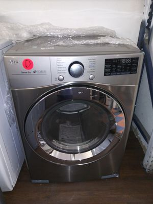 New Open Box LG Stainless Front Load Washing-Machine Set for Sale in Chino Hills, CA
