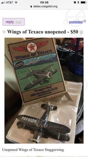 12 inch Texaco die cast toys new in boxes for Sale in Dallas, TX