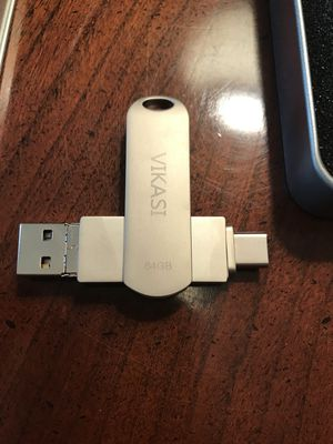 USB Type C Thumb Drive - 3 in 1 (64GB) for Sale in Catonsville, MD