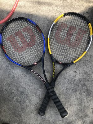 Tennis rackets for Sale in Colton, CA