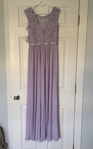 Purple David's Bridal bridesmaid dress for Sale in Denver, CO