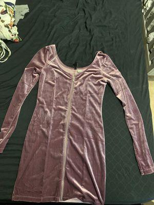 Velvet Zipper dress H&M for Sale in Riverside, CA