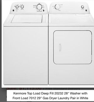 Used Kenmore washer and dryer for sale $350 for Sale in Boston, MA