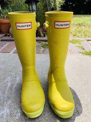 Size 13 Hunter Rain boots for Sale in Dana Point, CA