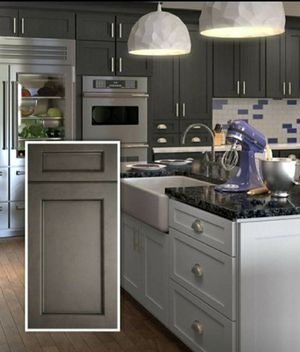 Townsquare Grey Kitchen Cabinets for Sale in Rockville, MD