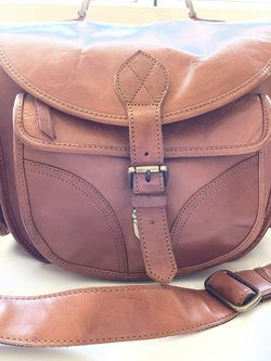 Brown Leather Camera Bag for Sale in Riverside,  CA