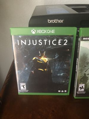 Xbox one Injustice 2 game for Sale in Murrieta, CA