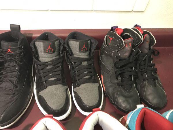 Jordan's and dunk sb 9-11