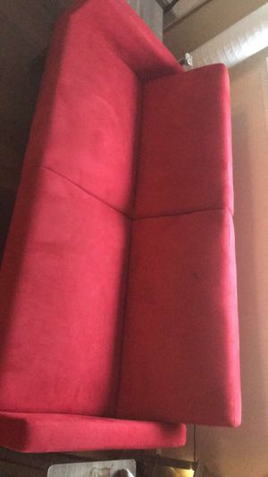 Red foldable couch sofa bed for Sale in Arlington, VA