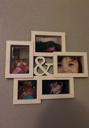 """&"" picture frame for Sale in Rancho Cucamonga, CA"