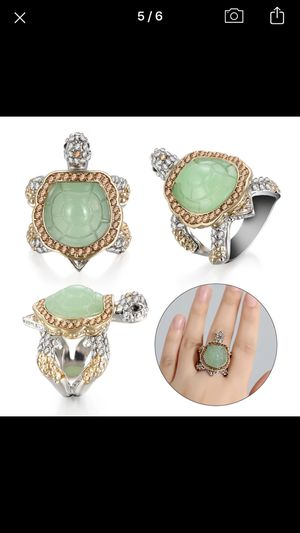 Gorgeous Emerald lab created ring for Sale in North Port, FL
