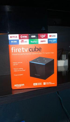 Amazon Fire TV Cube Brand New for Sale in La Mirada, CA