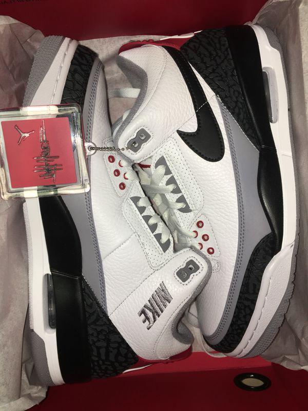"""e43396fdfac6a2 Air Jordan 3 Retro OG """"Tinker Hatfield"""" size 9 DEAD-STOCK for Sale ..."""