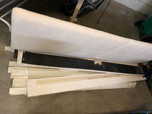 King Upholstered Bed Frame for Sale in Irvine, CA