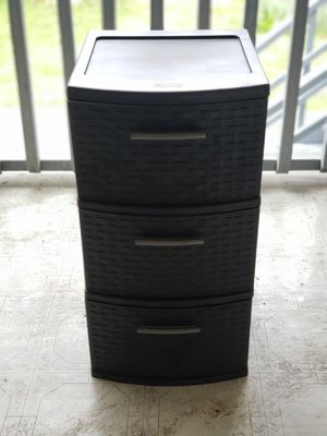 storage container - 3 drawers for Sale in Seattle, WA