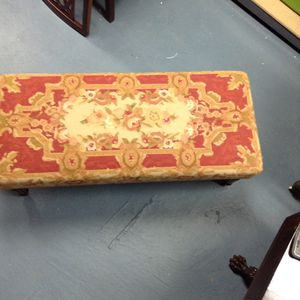 Needlepoint Ottoman/Coffee Table for Sale in Atlanta, GA
