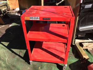New tools rack on wheels with power outlets for Sale in Asheboro, NC