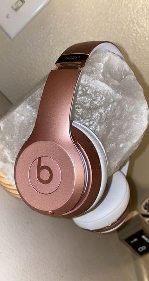 Beats by Dre - Beats solo 3 wireless - Rose Gold for Sale in Glendale, AZ