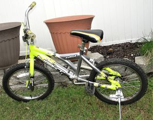 "NEXT .. 18"" .. Surge .. Boys' BMX Bike .. pre-owned with normal wear. Bristol Boro, Pa. 19007 Give your young adventurer the right equipment to make for Sale in Burlington, NJ"