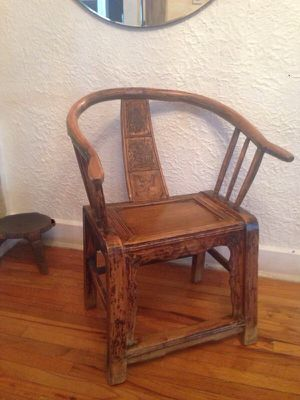 Antique emperor Chinese shandong chair for Sale in Miami, FL