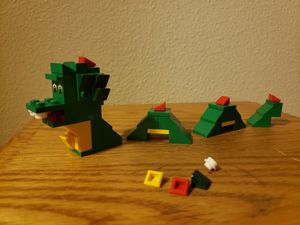Lego sea monster/dragon for Sale in Portland, OR