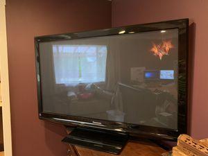 "Panasonic 55"" Plasma Television w/ Fire TV for Sale in Kent, WA"