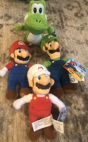 Super Mario Plush Dolls for Sale in Rensselaer, NY
