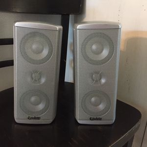 Selling My (2) Infinity Bookshelf Speakers for Sale in Miami, FL