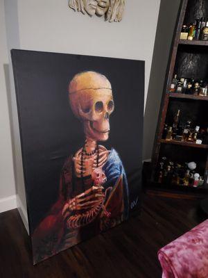 Creepy Canvas Wall Art for Sale in Norfolk, VA
