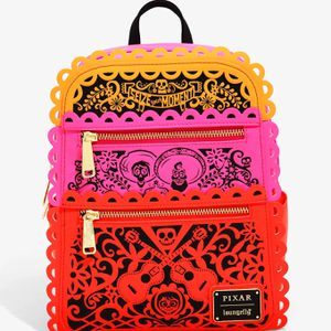 DISNEY PIXAR LOUNGEFLY COCO PAPEL PICADO MINI BACKPACK for Sale in Pico Rivera, CA