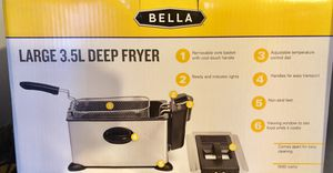 New Deep Fryer • Bella 3.5l Small Kitchen Appliance • Cooking for Sale in Washington, DC