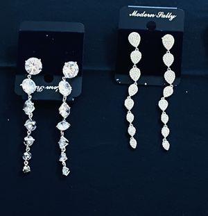 Beautiful earrings silver for Sale in Chantilly, VA